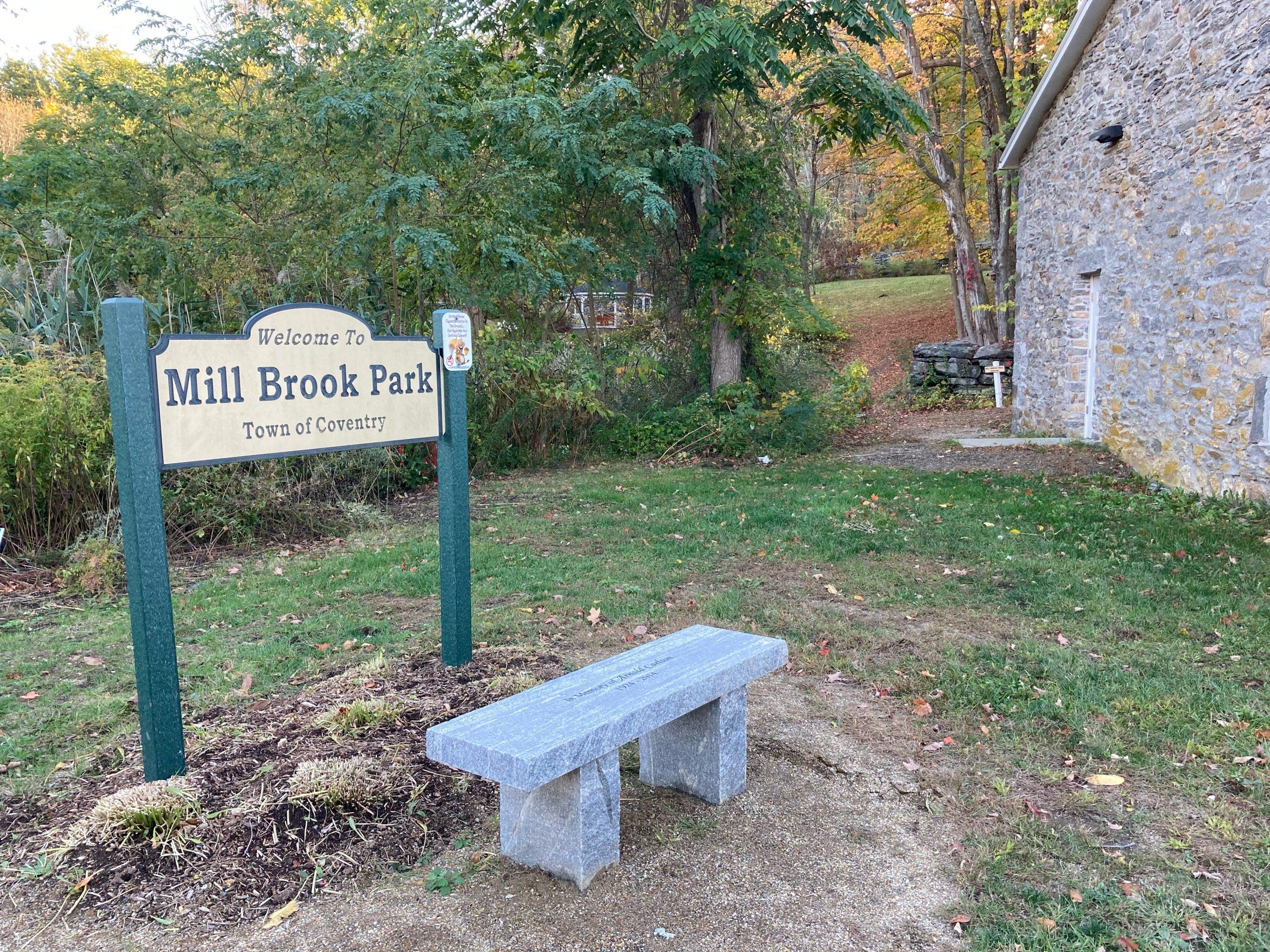 Mill Brook Park Trailhead
