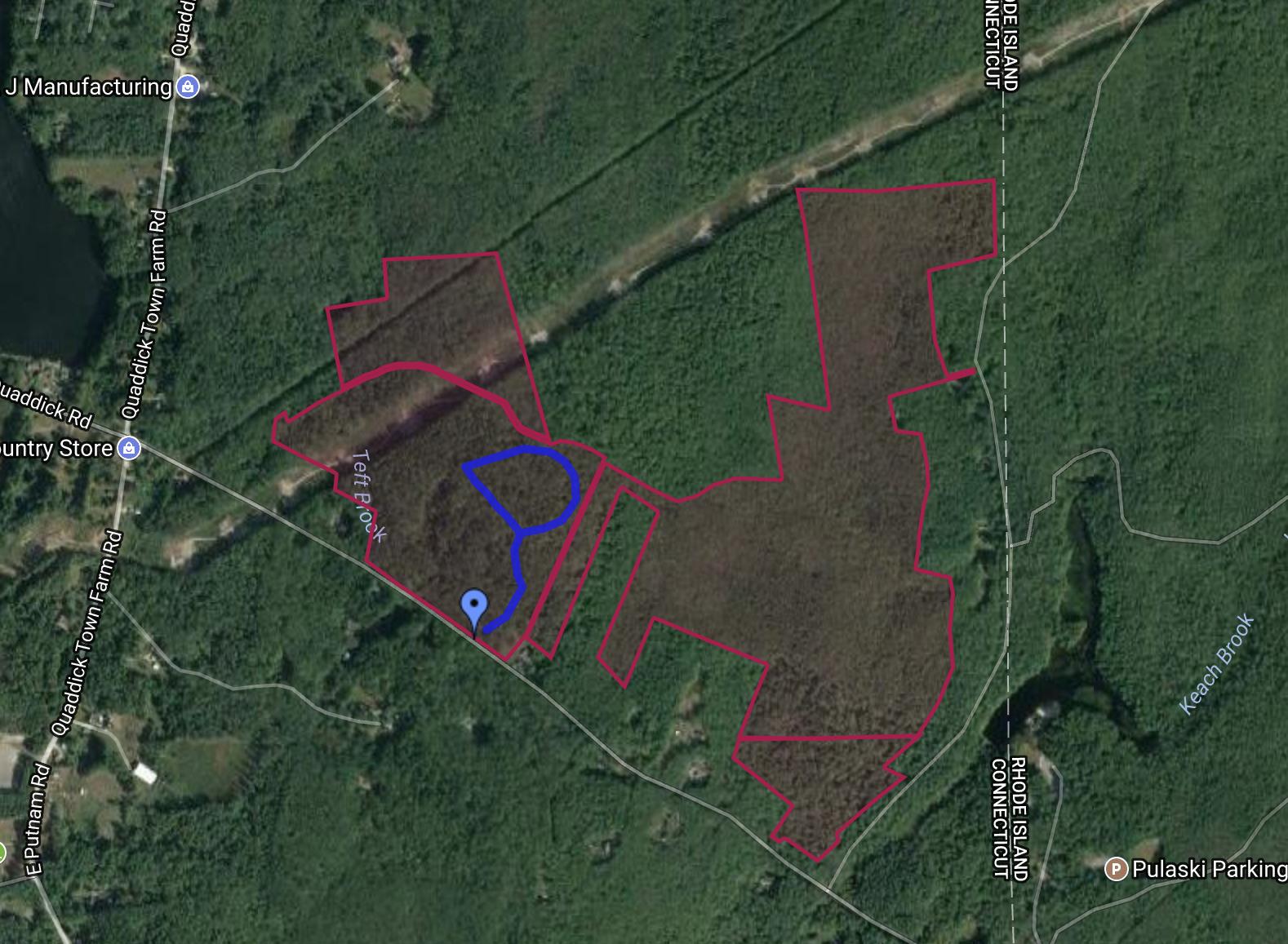 Tamler Preserve Trail Map