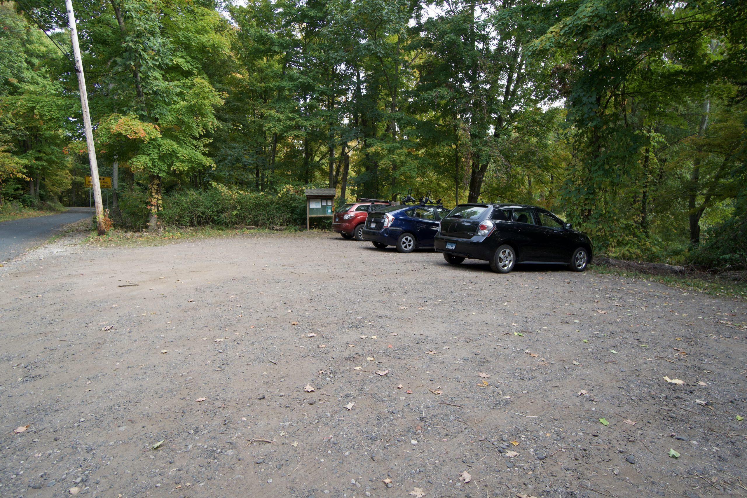 Whitaker Woods Parking